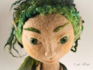 Feltrosa 2014 Art doll - Diana Biascaioli