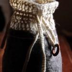 Borsellino crochet&feltro