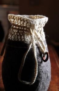 Borsa sacchetto crochet&feltro