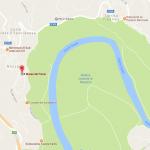 Mappa di alloggi e sedi di Feltrosa 2017