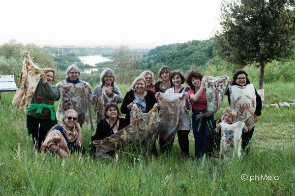 Feltrosa 2017 - laboratorio Vestirsi di Natura - foto Silvia Mela D'Orazi