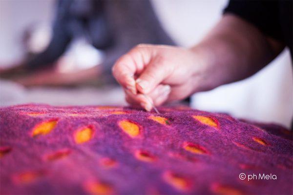 Le mille textures dell'arazzo - foto Silvia Mela D'Orazi
