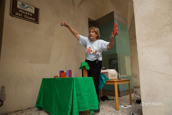 Maria Letizia Volpicelli teatro marionette - foto Silvia Mela D'Orazi