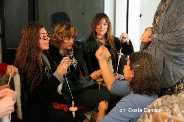 Feltrosa 2017, la filatura - foto Costantino Damico